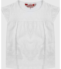 blusa blanco boboli