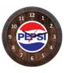 relógio de parede quadro tampa de barril tema cervejas vodka bebidas w-045
