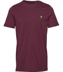 crew neck t-shirt t-shirts short-sleeved lila lyle & scott