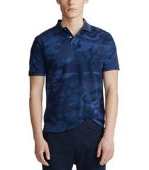polo ralph lauren men's classic fit camo mesh polo shirt