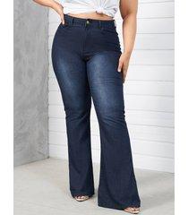 talla grande classic cinco bolsillos jeans