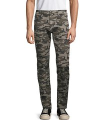the slim fit camo jeans
