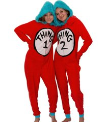thing 1 and 2 one piece pajamas, online only