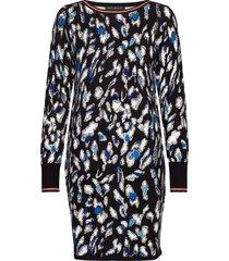 dress short knitted korte jurk multi/patroon betty barclay