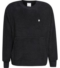 marcelo burlon cross tedy over crewneck sweater