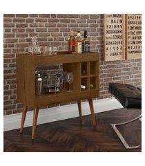 aparador bar com adega coffee break - malbec - rpm móveis