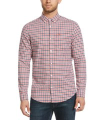 original penguin men's gingham oxford cotton shirt