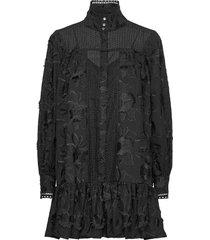 elorie jurk knielengte zwart custommade
