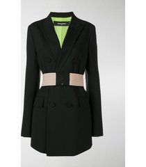 dsquared2 belted blazer