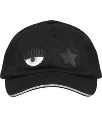 chiara ferragni eyestar baseall hat