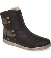 cloud aline bootie, size 9.5-10us in black leather at nordstrom