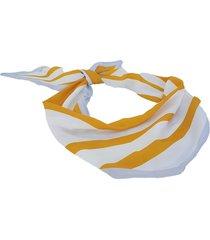 pañuelo amarillo nuevas historias rombo con rayas ba533-3129