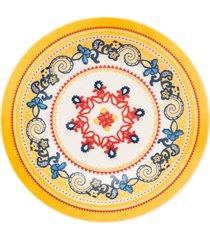 conjunto de 6 pratos fundos 23cm floreal la pollera - multicolorido - dafiti