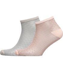 mix sock pack w. 12 footies träningssockor/ankle socks rosa becksöndergaard