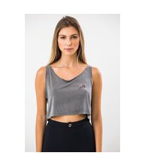cropped ecow regata in heart