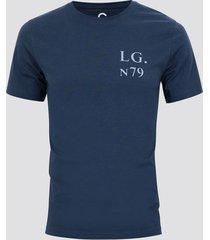 t-shirt med print - blå