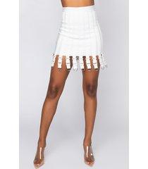 akira power booty bandage mini skirt