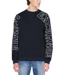 ax armani exchange men's logo sweatshirt