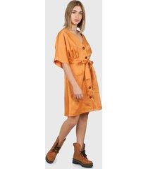 vestido cobre montjuic creta