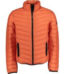 bos bright blue zomerjas oranje regular fit 21101to02sb/479 spice