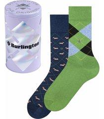 burlington socks neutral gift tin men socks | multi | 20427-0010