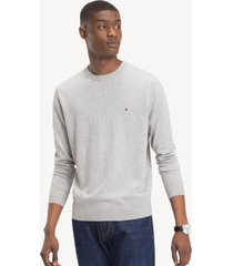 sweater slim forestperla tommy hilfiger
