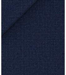 giacca da uomo su misura, vitale barberis canonico, blu flanella microdesign, autunno inverno | lanieri