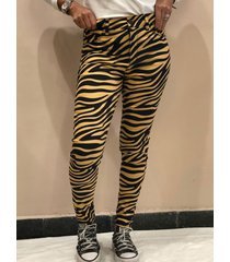 pantalón animal print wupper
