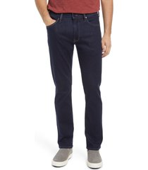 men's 34 heritage men's courage straight leg jeans, size 42 x 30 - blue