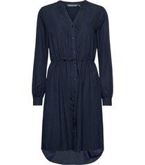 nubetsan dress knälång klänning blå nümph