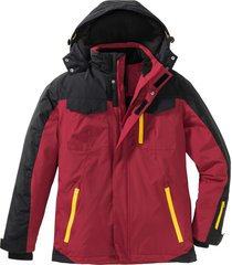 giacca tecnica invernale regular fit (rosso) - bpc bonprix collection
