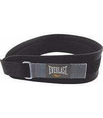 cinturón de pesas everlast 4''-negro