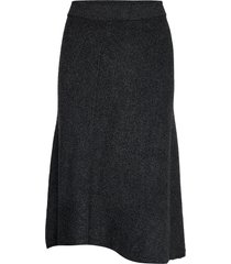 corolla knälång kjol grå max&co.