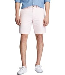"polo ralph lauren men's classic fit 9.25""striped shorts"