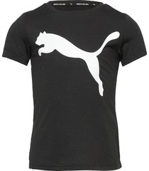 active tee g t-shirts short-sleeved svart puma