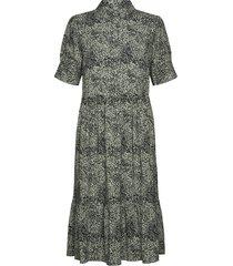 sc-nika dresses shirt dresses grön soyaconcept