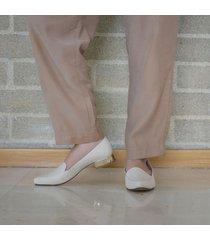 baleta punta emiliana beige