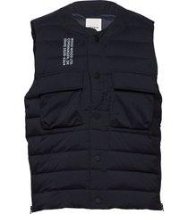 kelvin light padded vest vest zwart wood wood