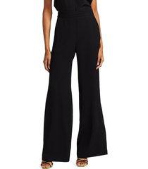 parker women's rome wide-leg pants - black - size 2