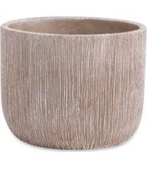 cachepot em cimento tamanho p 10,5cm mart cinza