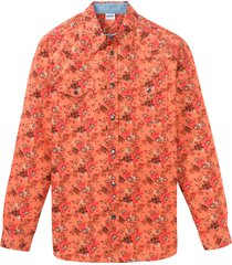 camicia a maniche lunghe (arancione) - john baner jeanswear