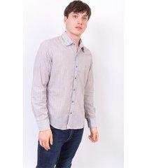 camisa gris abso genesis lurex