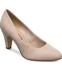woms court shoe shoes heels bridal classic beige tamaris