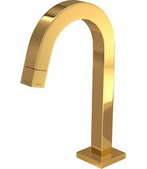 torneira para banheiro mesa tube bica baixa gold 1197.gl.tub - deca - deca
