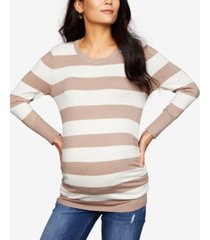 a pea in the pod maternity ruched sweater