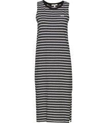 mini check midi dress maxiklänning festklänning svart vans