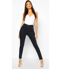 power stretch disco jeggings met hoge taille, indigo