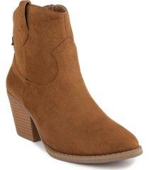 sugar women's tarah western booties women's shoes