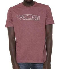 camiseta volcom silk straight up