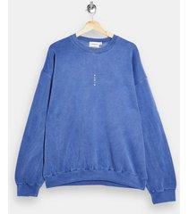mens blue vertical paris sweatshirt